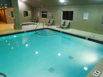 holiday inn express vernon indoor pool